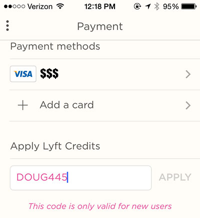 Lyft coupon code 2018