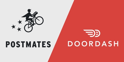 PostMates or DoorDash : Which one is cheaper?