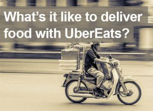 What it's like to be an Uber eats delivery driver