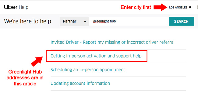 How Uber Drivers Can Get In-Person Help at Uber Offices